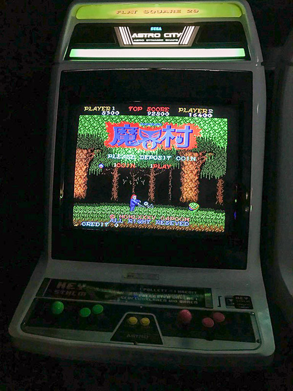 Ghosts n Goblins on Arcade