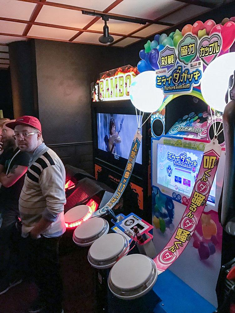 Japanese arcades at HEY Stockholm