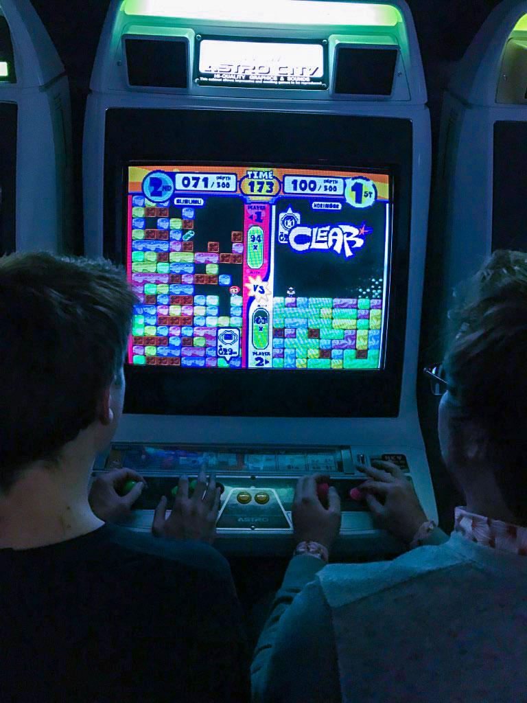 Mr. Driller on arcade