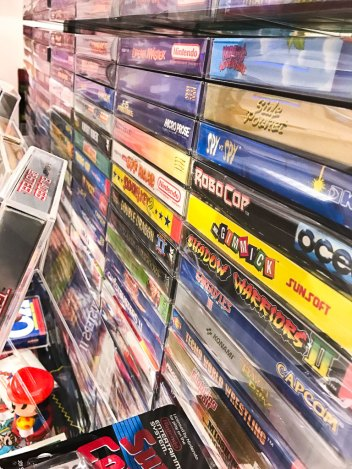 Complete NES Collection on display at Stockholms Gaming museum