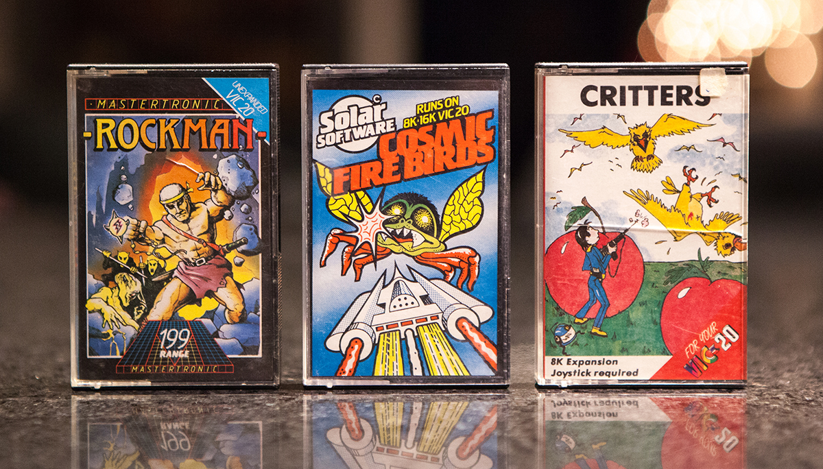 Rockman, Cosmic Fire Birds and Critters - VIC-20