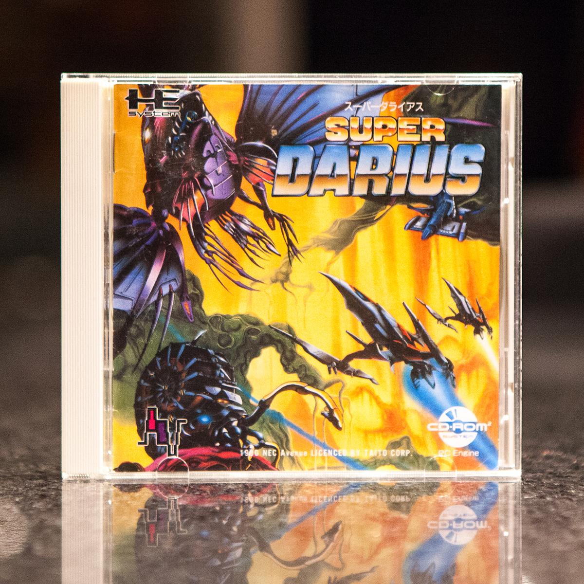 super-darius-pc-engine-cd-rom | Retro Video Gaming