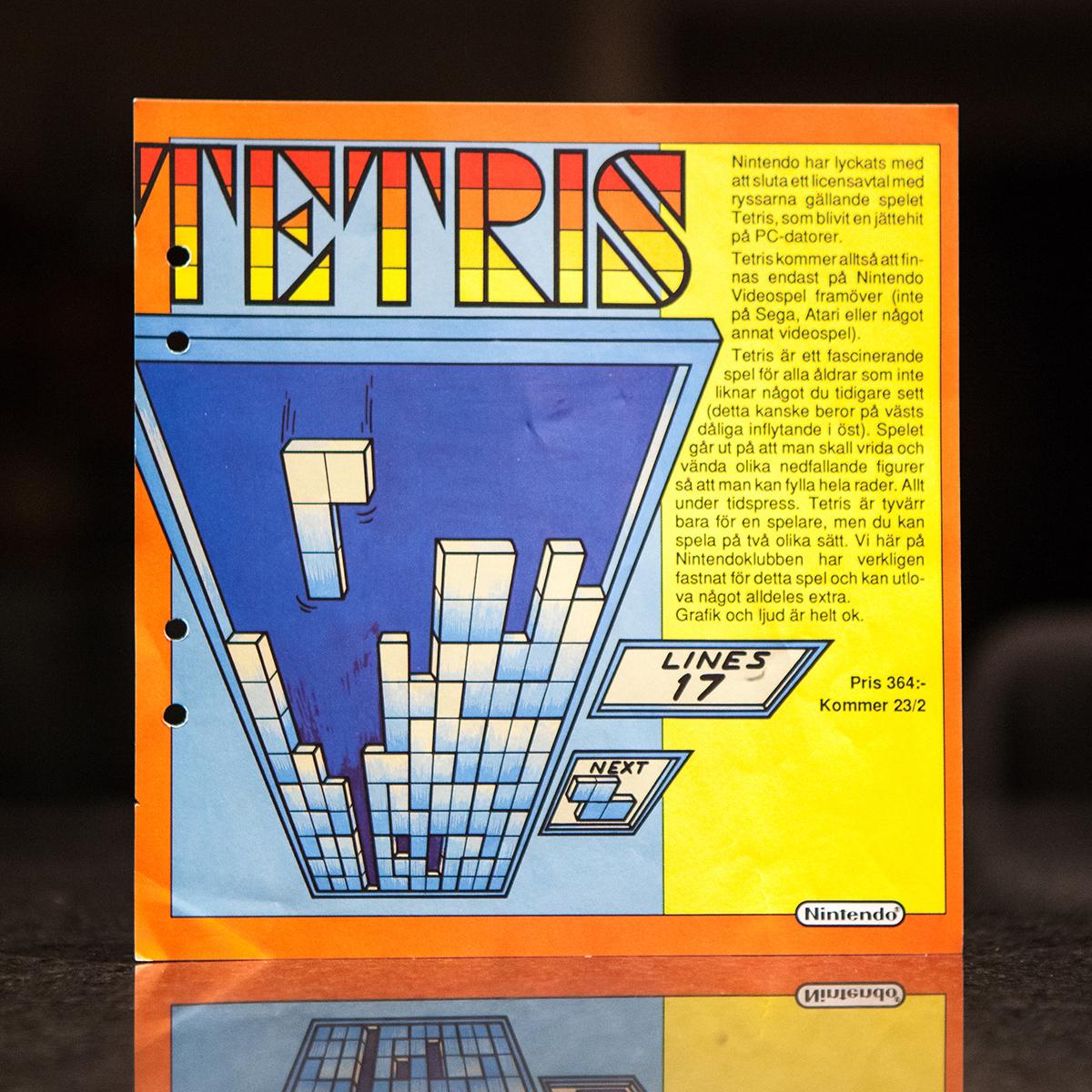 Tetris ad