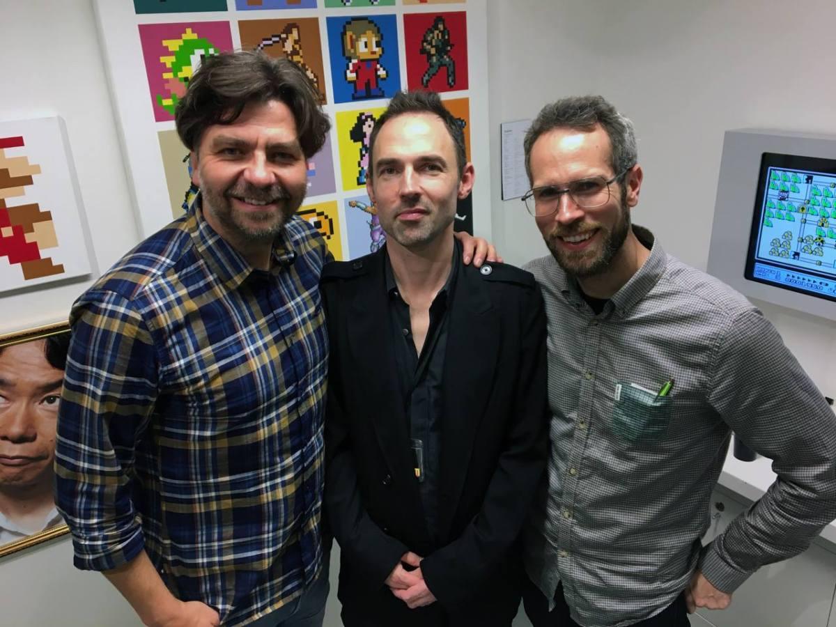Thomas Arnroth, Tobias Bjarneby and Martin Lindell