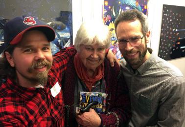 "Thomas ""Sol"" Sunhede, Elsa Karin Boestad-Nilsson and Martin Lindell"