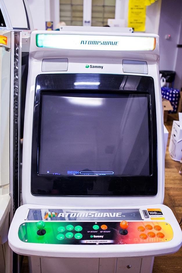 Atomiswave arcade cabinet