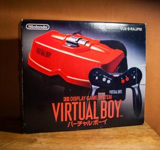 Boxed Japanese Virtual Boy