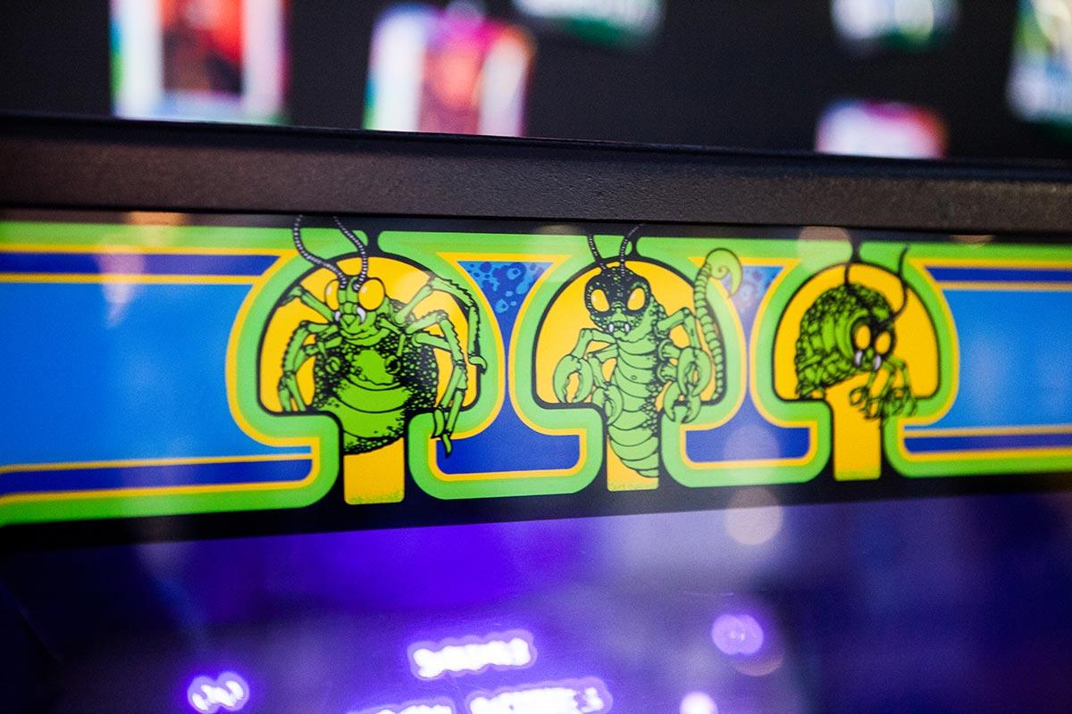 Centipede arcade cabinet