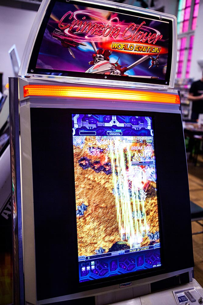 Bullet hell shmup on arcade