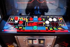 Defender arcade cabinet