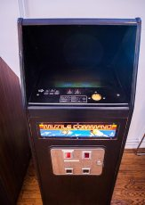 Missile Command arcade cabinet