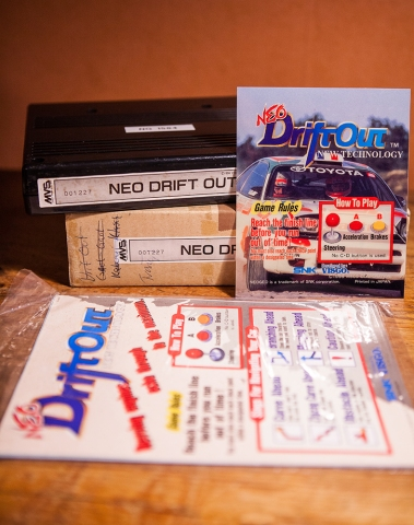 Neo Drift Out for Neo Geo MVS