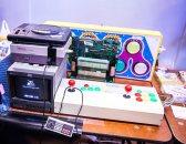 NES and arcade stick