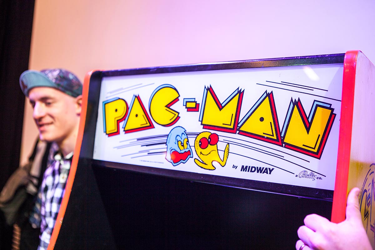 Pac-Man and the champion lurking behind it