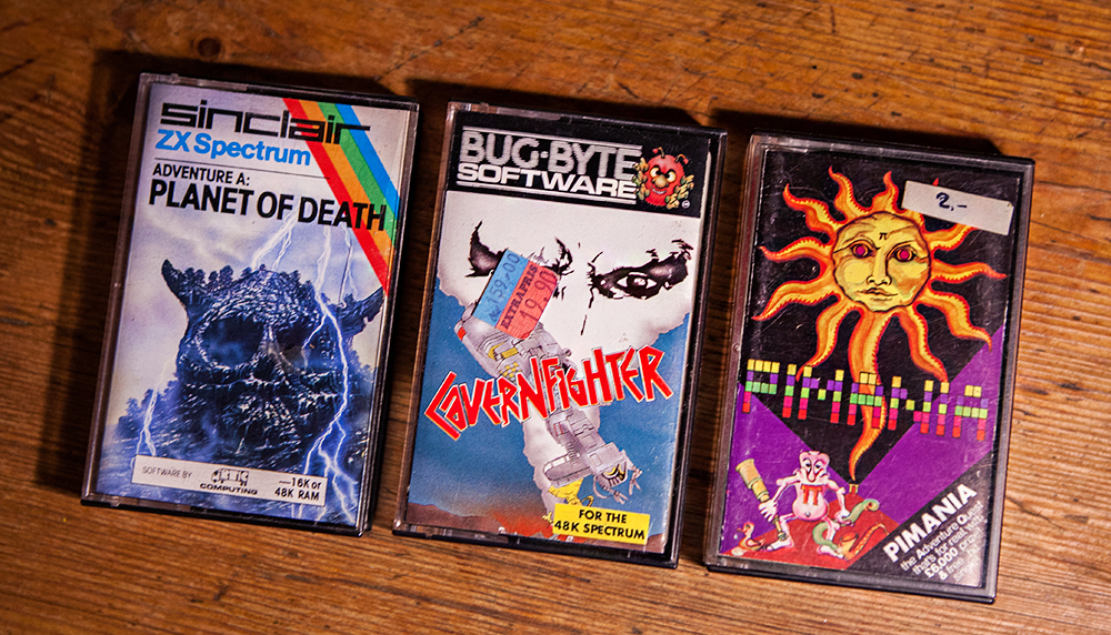 Planet of Death, Cavernfighter and Pimania for ZX Spectrum