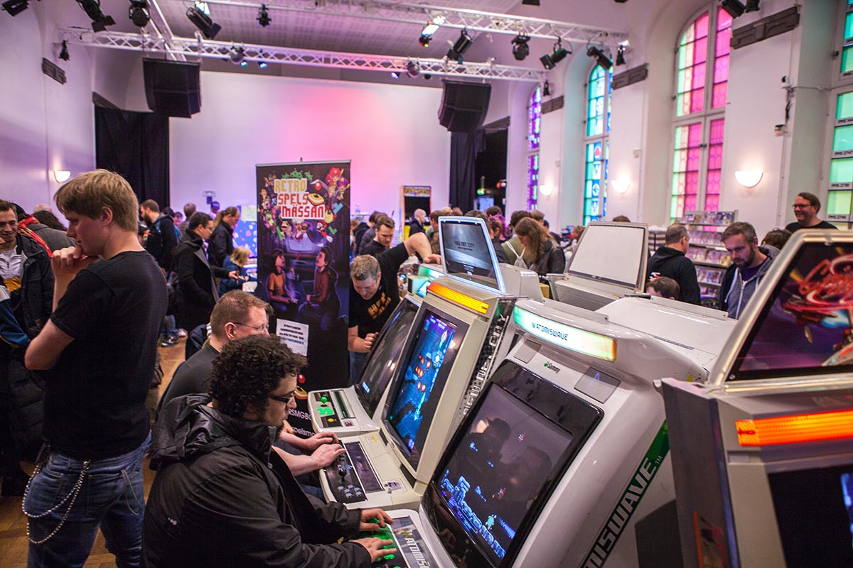Retro Games convention Stockholm