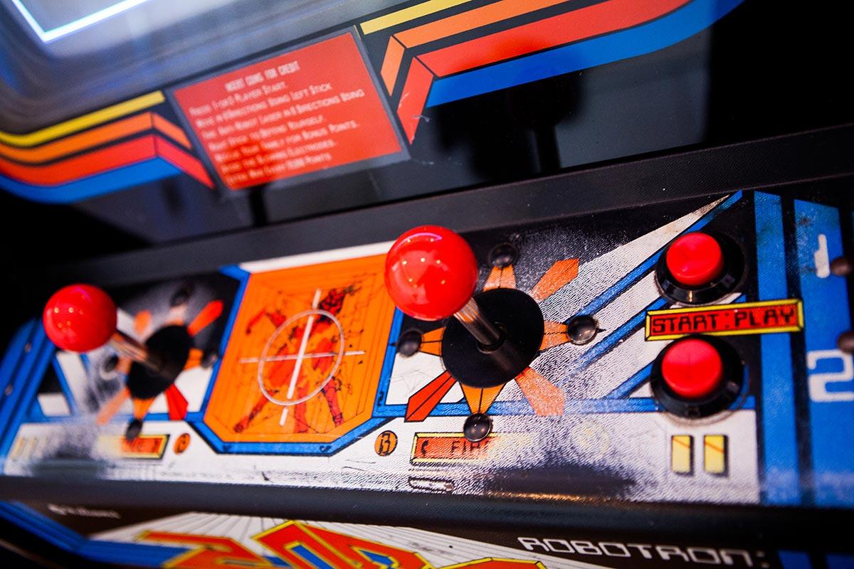 Robotron 2084 arcade cabinet