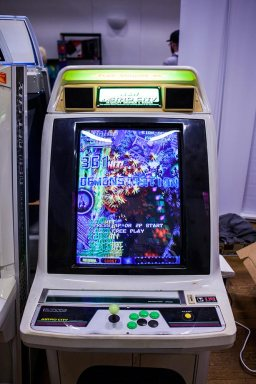 Shmup on New Astro City arcade