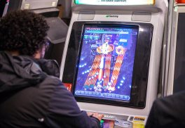 playing shmups
