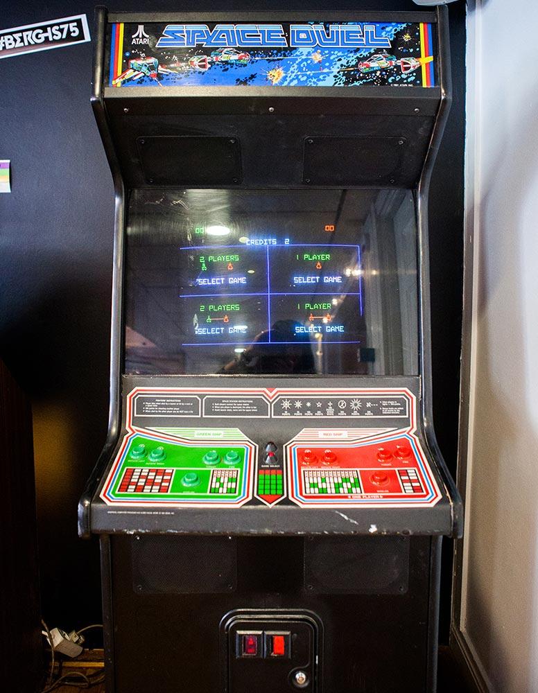 Space Duel arcade cabinet