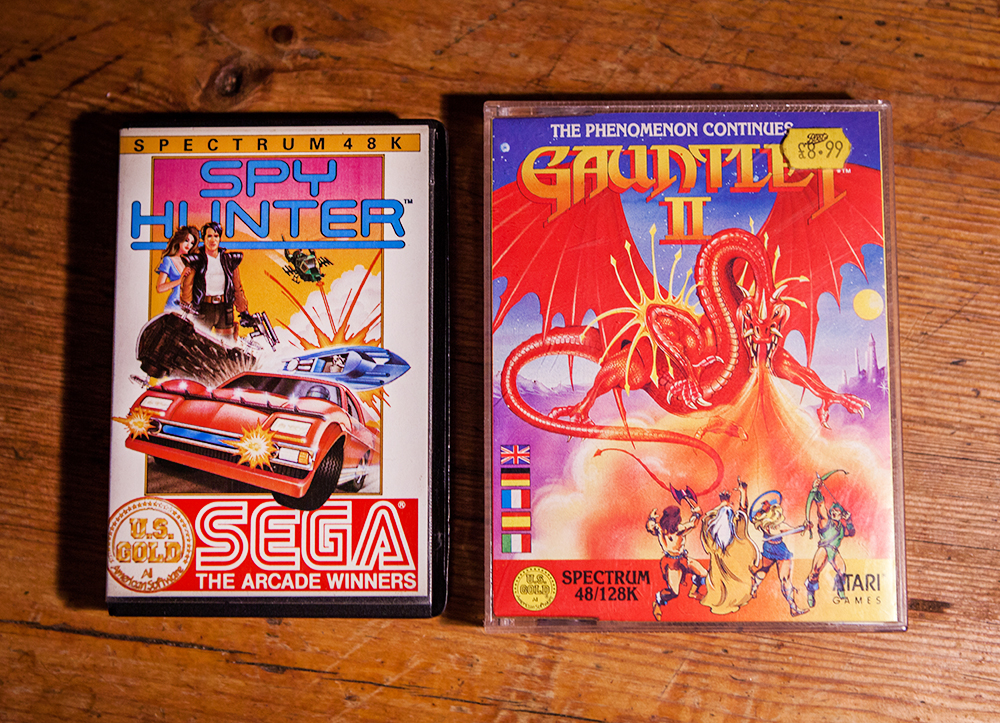 Spy Hunter and Gauntlet II for ZX Spectrum