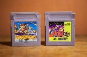 Donkey Kong adn Bomberman GB for Game Boy