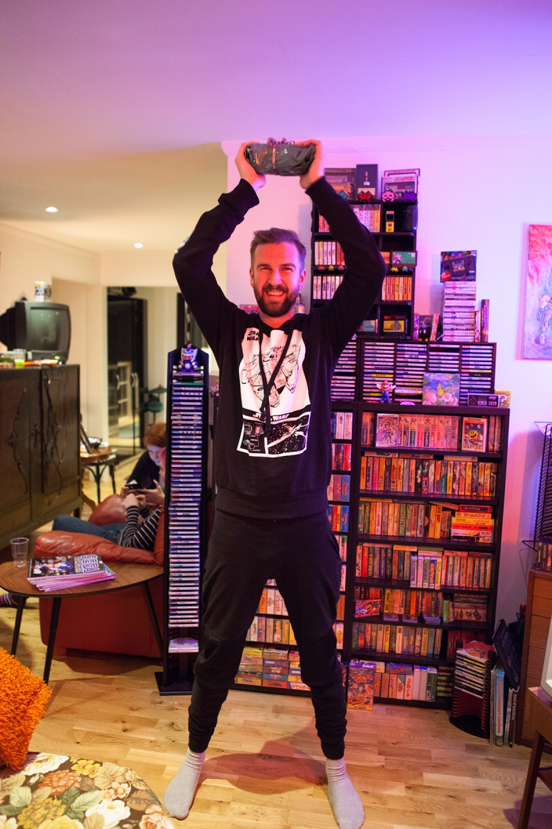 Christian came out victourious at Retro Rumble