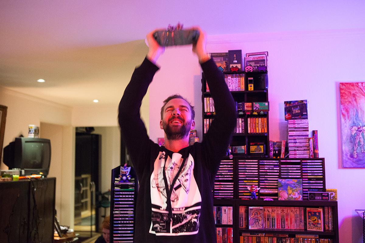Christian won Retro Rumble!