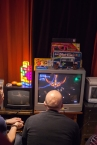 Competing in Cycho Rider on PC Engine at Retro Rumble