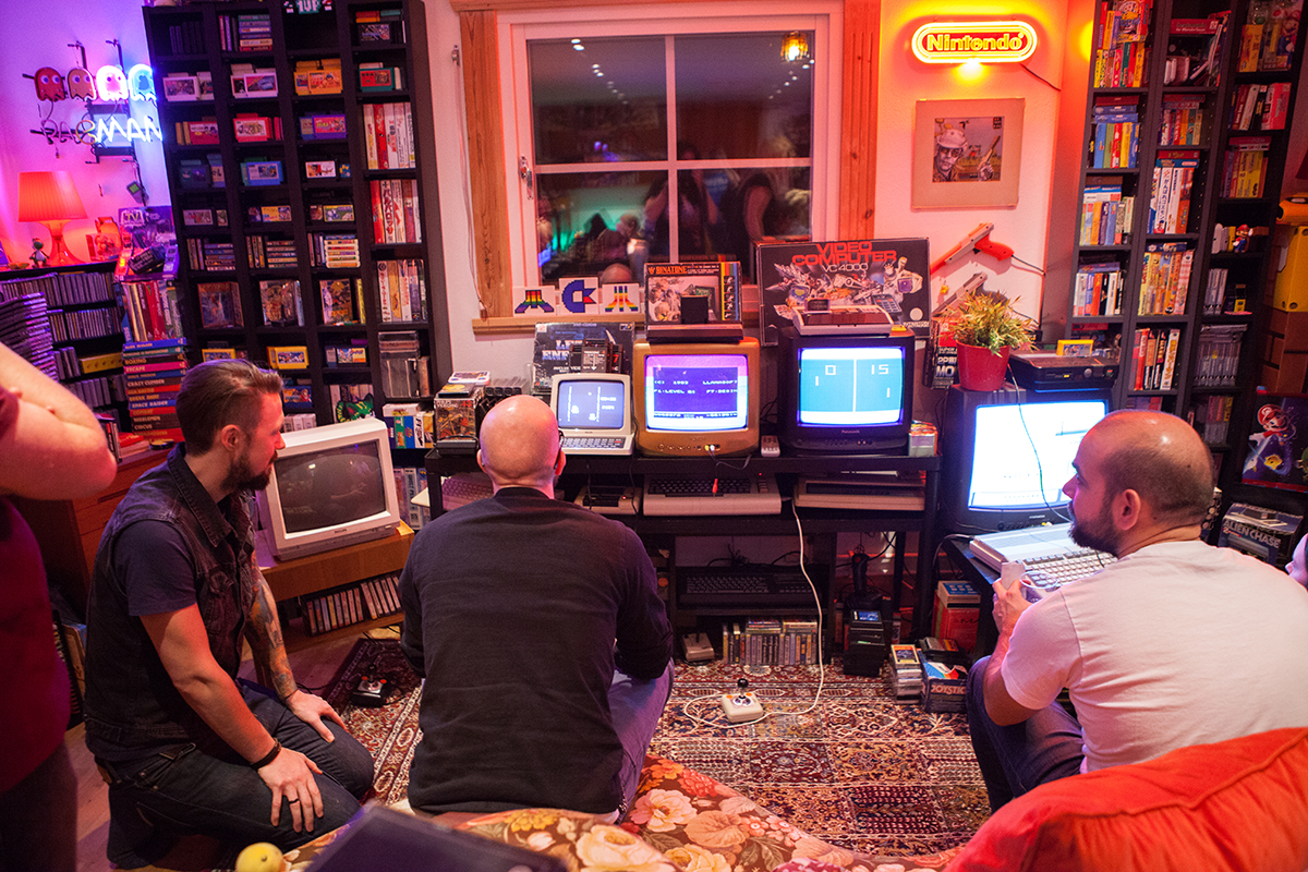 Competing in Race on Philips VideoPac G7200 at Retro Rumble