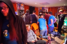 Competition going on at Retro Rumble