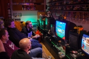 Semi-finals in VS Collection on Super Famicom at Retro Rumble