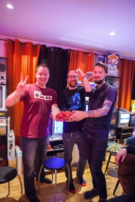The victorious team at Retro Rumble