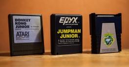 Atari 400 - Donkey Kong Junior, Jumpman Junior and Frogger