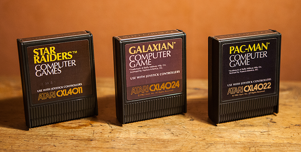 Atari 400 - Star Raiders, Galaxian and Pac-Man