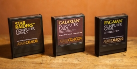 Atari 400 - Star Raiders, Galaxian and Pac-Man