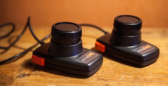 Atari 2600 driving controllers