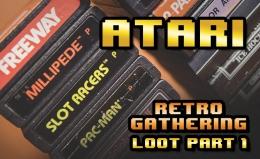 Various Atari 2600 carts & other Atari l00t from Retro Gathering VCE2017
