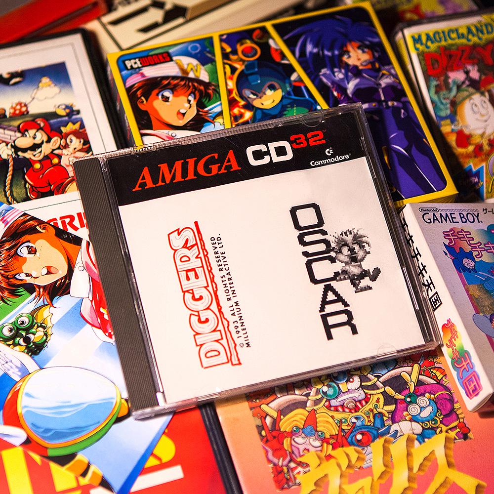 Diggers & Oscar - Amiga CD32