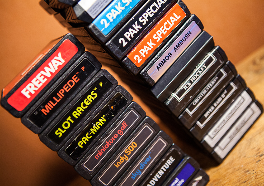 End labels on Atari 2600 games