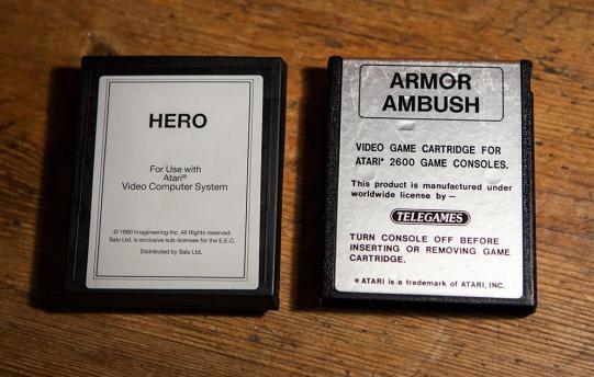 Hero and Armor Ambush - Atari 2600