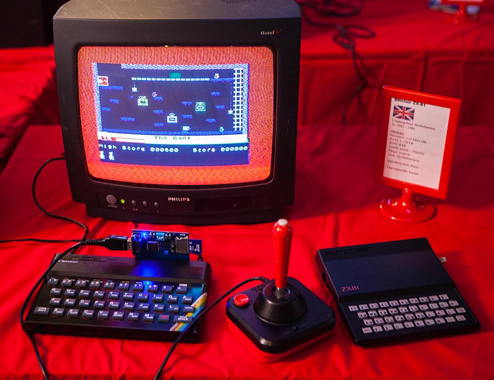 Sinclair Zx Spectrum 48k Retro Video Gaming