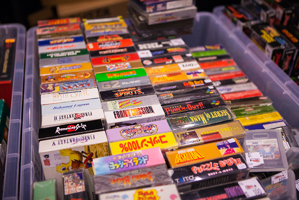 Super Famicom games