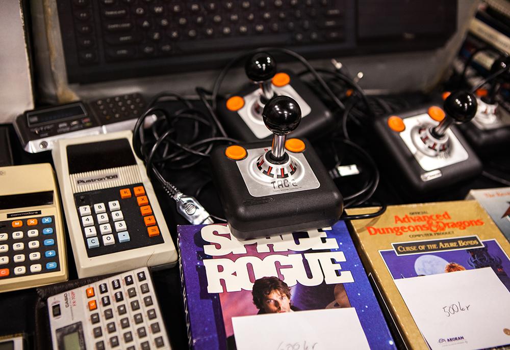 TAC-2 joysticks