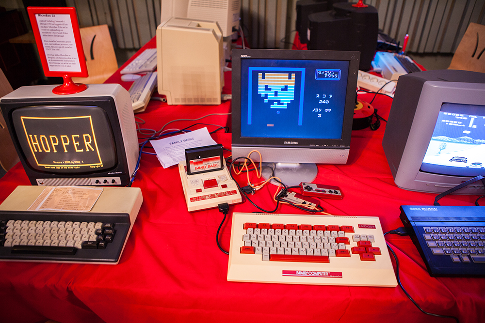 Vintage Computers on Retro Gathering