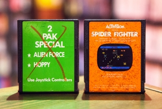 Alien Force, Hoppy & Spider Fighter - Atari 2600