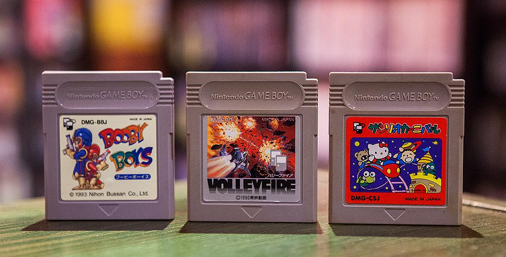 Booby Boys, Volleyfire, Sanrio Carnival - Game Boy