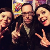 Geeky Gals Becki & Heidi with Cleareyes