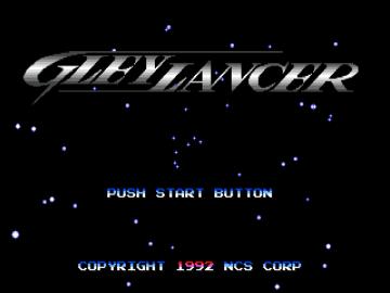 Gleylancer Sega Mega Drive