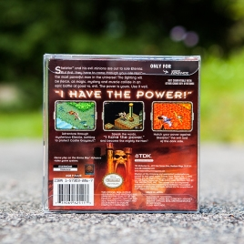 Masters of the Universe He-Man Power of Grayskull back - GBA
